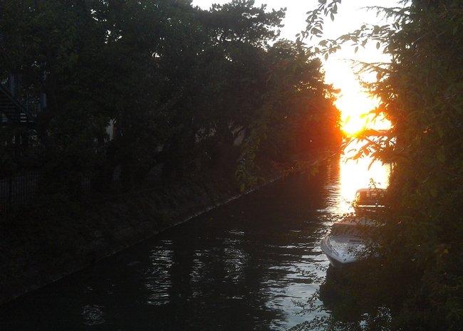 COUCHER DE SOLEIL AU LIDO dans 04 Venise : vie quotidienne Copie-de-01
