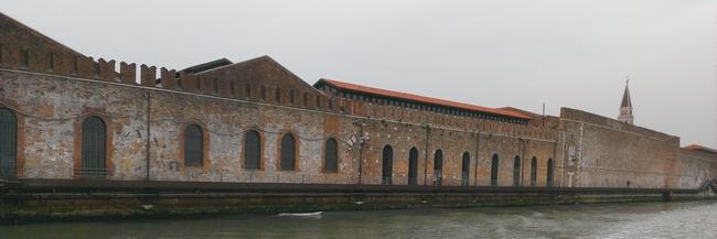 BALADE DANS « L'ARSENALE DI VENEZIA » dans 03 Venise : musées & expos & monuments & Architecture 01
