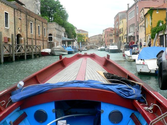 NO GRANDI NAVI, MANIFESTATION SUR L'EAU dans 02 Venise : évenements 012
