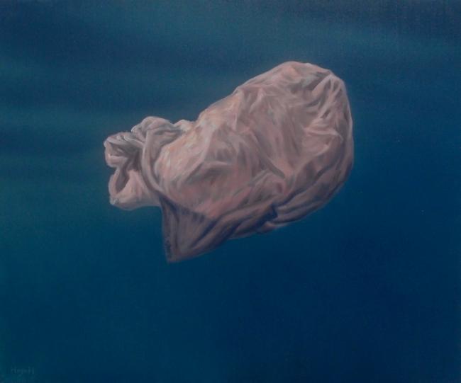 UN SACHET PLASTIQUE par HUGO H dans 09 Peinture & Dessins sachet-plastique-650