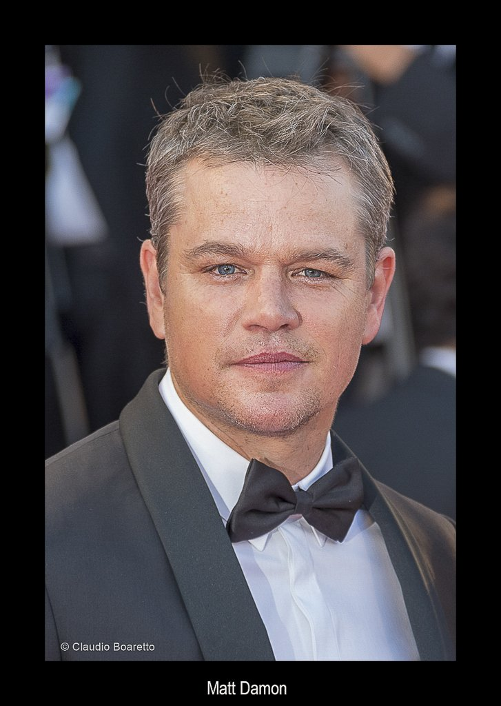 51a-Matt Damon-PS