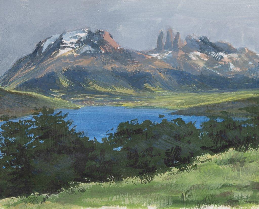 14 79 Laguna Azul et Torres del Paine
