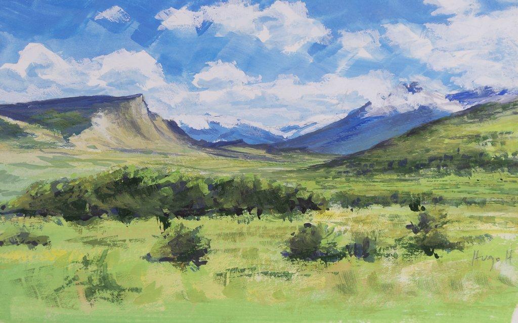 9 40 Matin Clair (Valle Tres Pasos)